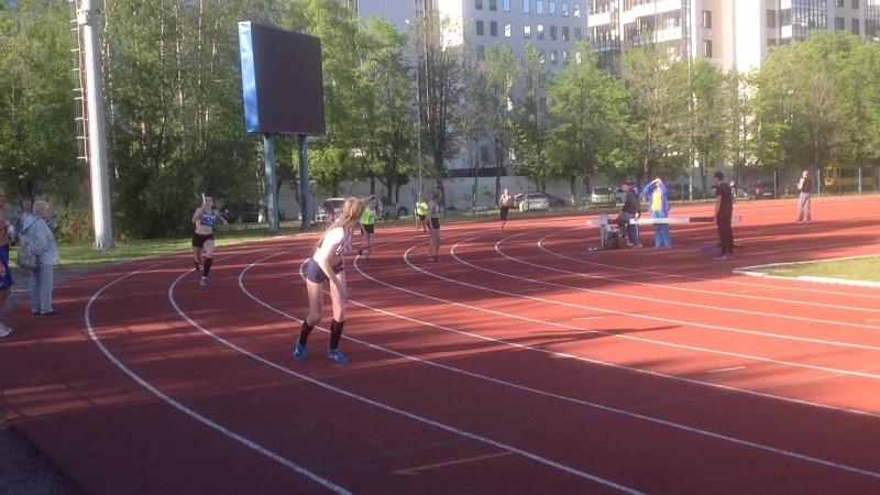 Эстафета 4х100м, 1 место.