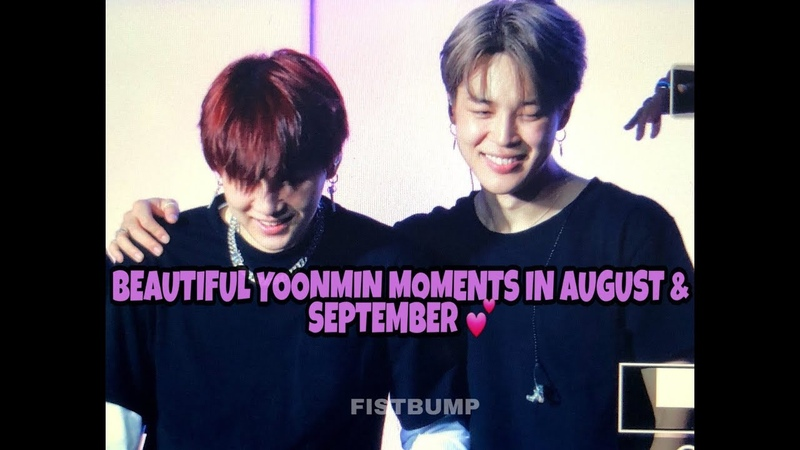 YOONMIN [ENG/ESP] BEAUTIFUL MOMENTS YOONMIN IN AUGUST SEPTEMBER 🌹