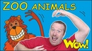 ZOO Animals for Kids   Stories from Steve and Maggie   Learn Speaking Wow English TV   Words ingles