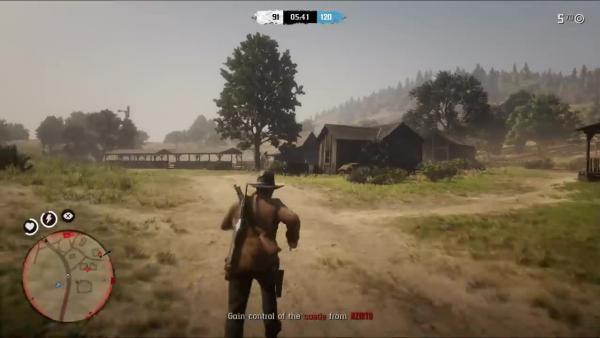 Поразительная драка серваков! - Red Dead Redemption 2 Online (Забавные моменты)