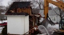 House demolition - 98 % Recycled C D Recycling