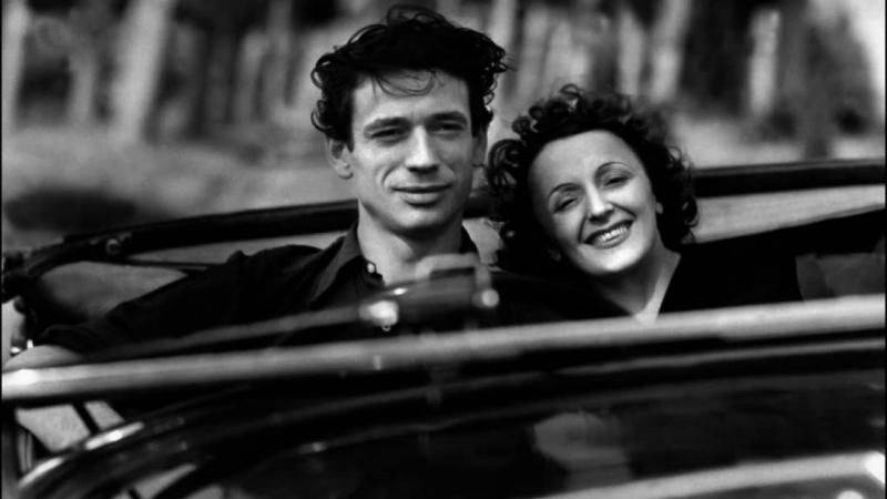 Édith Piaf C'est Merveilleux Поёт Эдит Пиаф Песня с Х Ф Звезда без света Etoile sans lumiere 1946 Фрагмент фильма