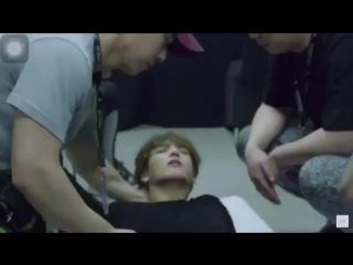 KPOP IDOLS Fainting (BTS, Wanna One, EXO) _ 아이돌 실신