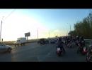 25.04.18г. выезд колонны мотопробега Дорога Победы .