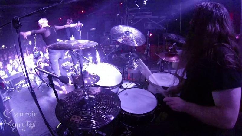 Czarcie Kopyto drum cam Paweł Jaroszewicz OBSCURE SPHINX@Nothing Left - 20.04.2018 Katowice, Poland