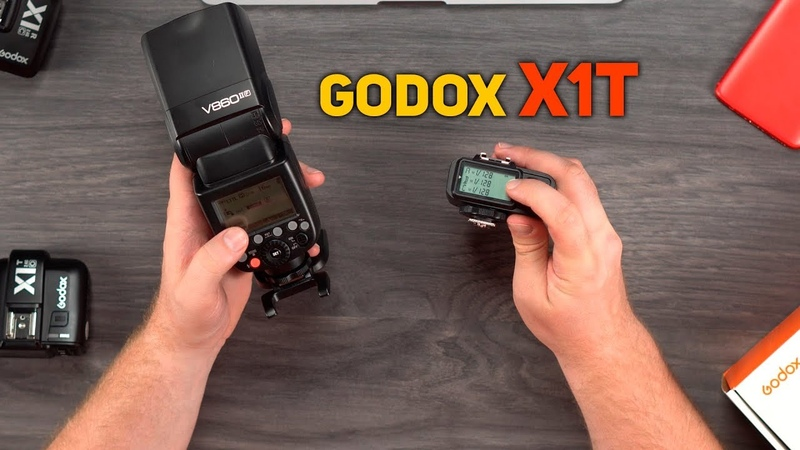 Передатчик Godox X1T видео инструкция к синхронизаторам Godox