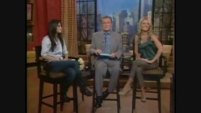 Selena Gomez. Regis Kelly