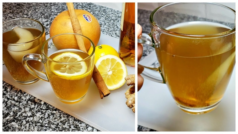 Hot Toddy Recipe for Cough and Cold Relief | Korean Pear Ginger Tea