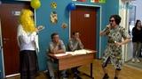 Посвящение первокурсников в студенты в Луховицком авиационном техникуме.