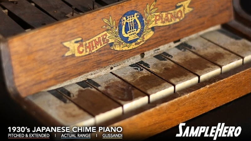 SampleHero Japanese Chime Piano