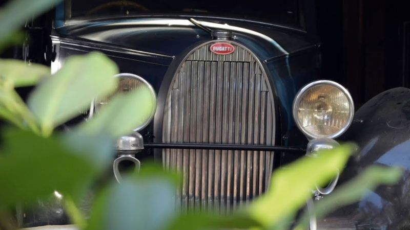 Bugatti sortie de grange