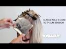 Окрашивание блонд   How to Color Highlight Hair [Platinum blonde _ Champagne blonde]