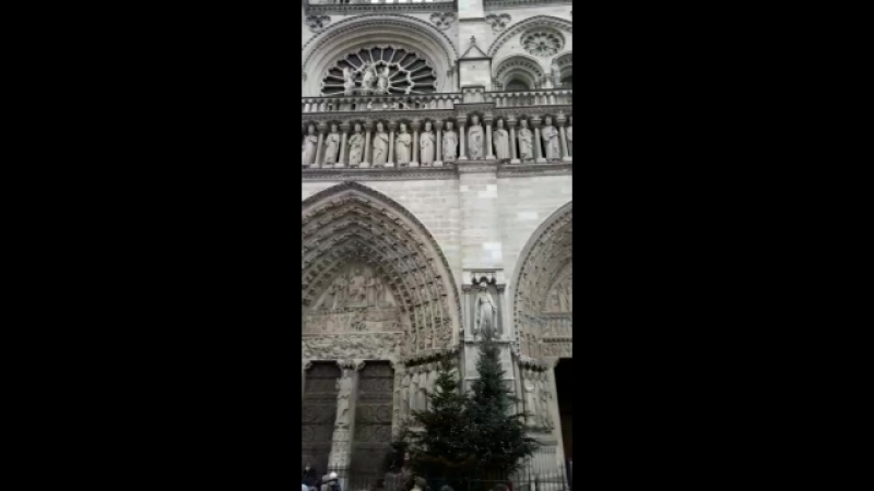 Собор Парижской богоматери Моё видео