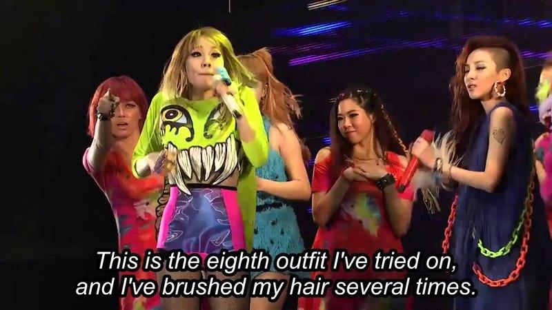 2NE1's Let's Go Party LIVE 2NE1 'New Evolution in Seoul'
