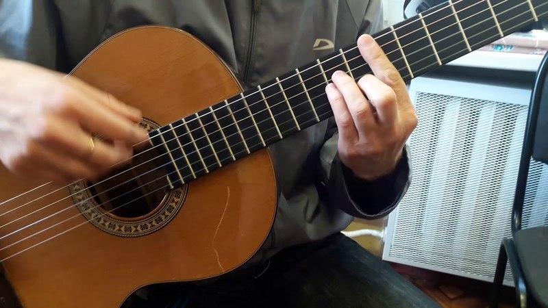 Как освоить прием баррэ на гитаре (некоторые тонкости