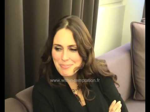 Within Temptation France - Sharon Den Adel Interview - October 2009 Part 2/2