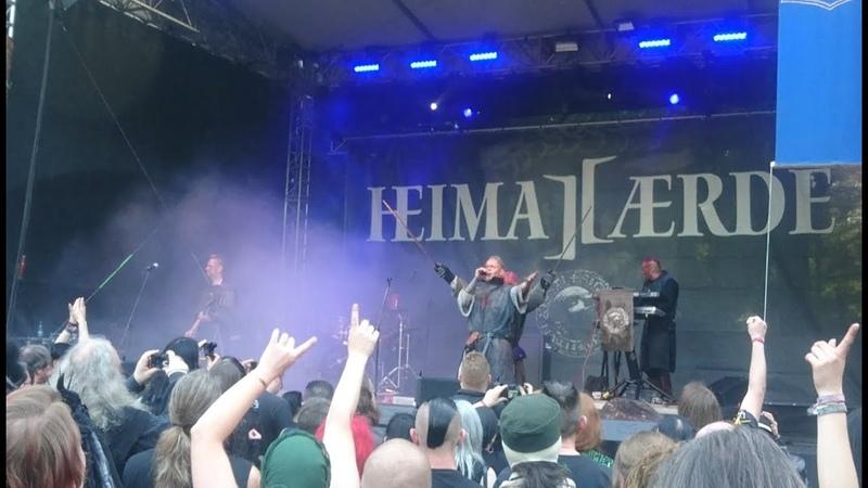 Heimataerde - 'Hoch Hinaus' (Live at 27. WGT 2018)