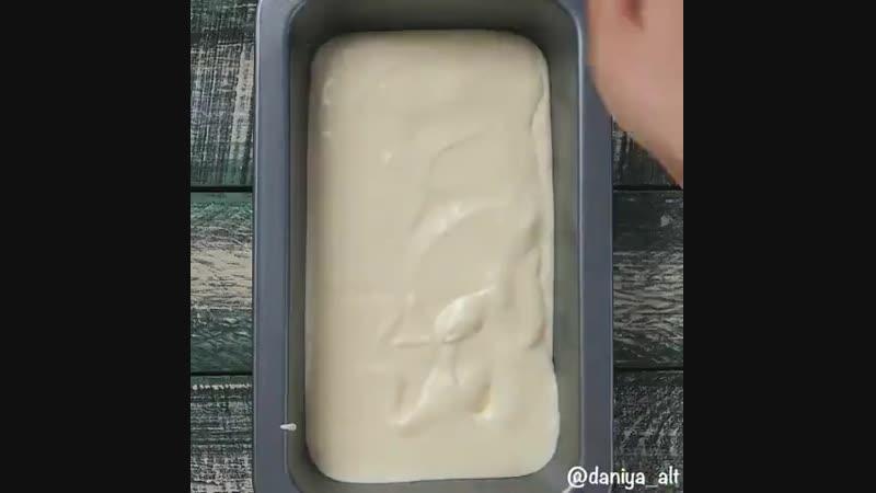 Домашнее мороженное (описание под видео)