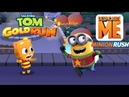 Talking Tom Gold Run GINGER vs MINION RUSH Despicable Me