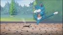 Fairy Tail приколы   Хэппи раздавил Нацу?!  Хвост феи приколы