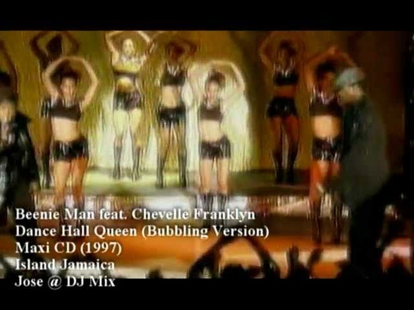 Beenie Man ft Chevelle Franklyn Dance Hall Queen Bubbling Version P E Jose @ DJ Mix