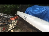R 2 от Storm kayaks как работает руль новый на удар