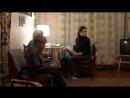Встреча Анны и Тимофея с прабабушкой. 4 января 2012 года. г.Киров