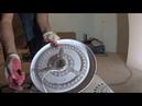 Установка плоской светодиодной люстры -тарелки на натяжной потолок в Ростове-на-Дону
