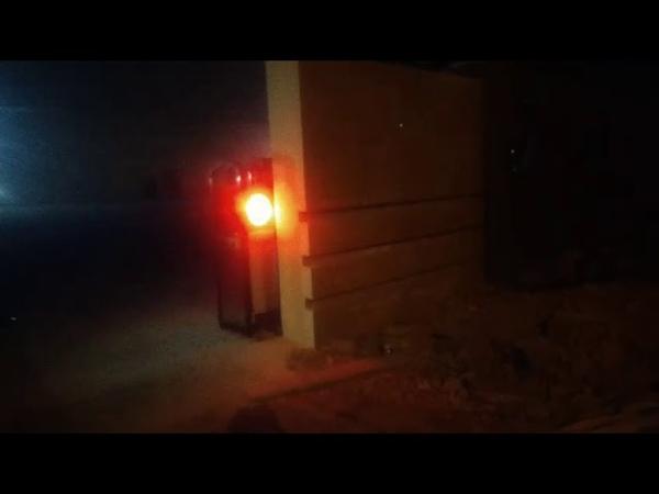 Cổng xếp tự động, cổng xếp nhôm- Trúng thầu tại CTY Tín An, Bình Dương
