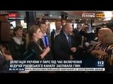 Включение Скабеевой перебили пением гимна Украины