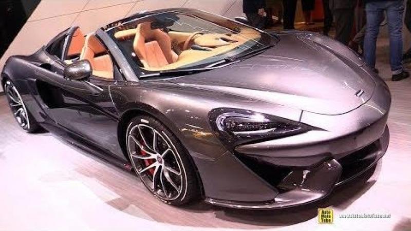 2018 McLaren 570S Spider - Exterior and Interior Walkaround - 2018 Geneva Motor Show
