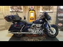 2018 CVO Screamin' Eagle Electra Glide Ultra Limited 115th Anniversary odyssey blue