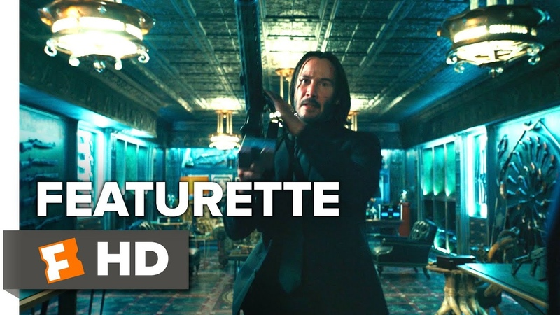 Джон Уик 3 John Wick 3 Parabellum The Continental in Action