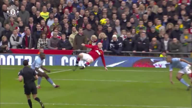 Wayne Rooneys Bicycle Kick v Man City Goal _ All The Angles _ Manchester United