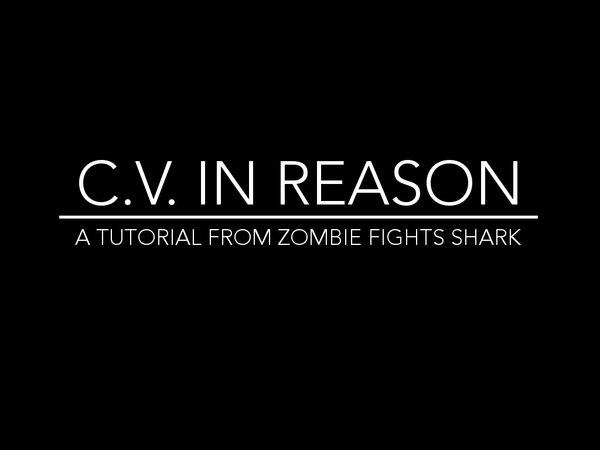 CV in Reason, Part 1 (What is CV?)