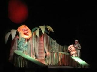 litle slonik потерял свой нос---  спектакль  дет театра кукол г   Ижевска