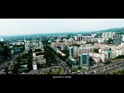 Алматы с высоты птичьего полета. Almaty Views