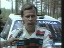 Markku Alen testing and interview with english subtitles