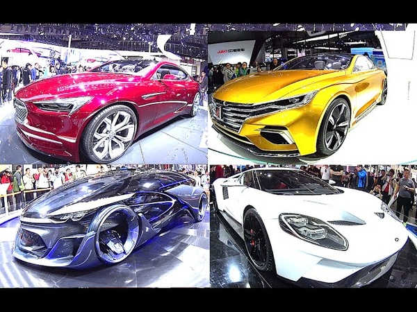 TOP 9 concept cars, which we will see on the roads next year (No pics, only videos)