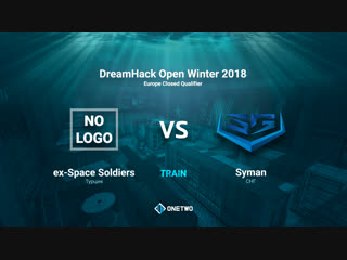 DreamHack Open Winter 2018 EU Qualifier | Space Soldiers vs Syman | BO3 | de_train | by Afor1zm