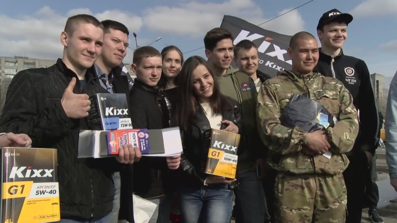 Омск - день Копейки, апрель 2018 (Прада - Kixx)