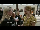Emma Watson's Interview for London Tonight Burburry show HQ