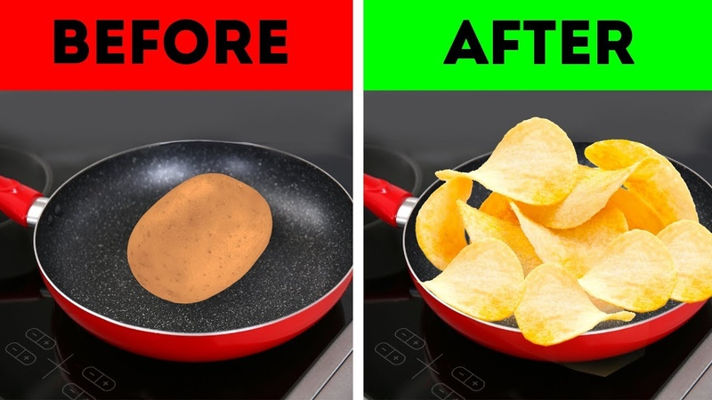 Чудеса с картошкой Сделать