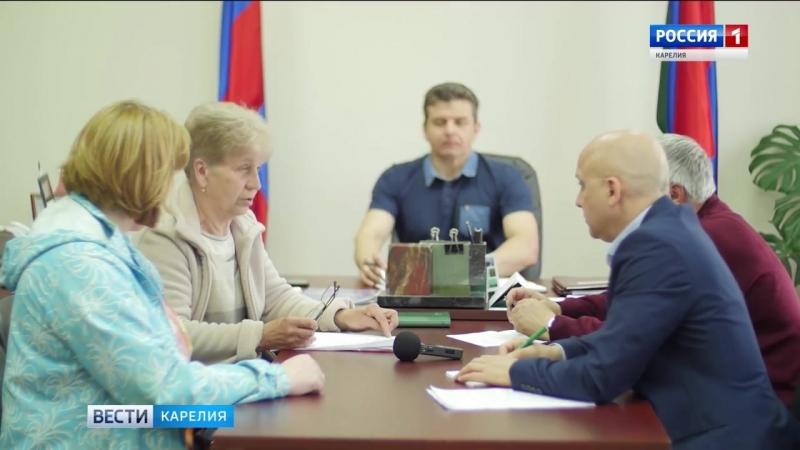 Встреча с жителями Медвежьегорского района