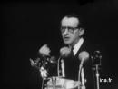 Les cérémonie à l'hôtel de ville et discours de Malrau 14 7 1958