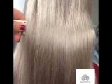 Шикарный блонд, мягкие волосы