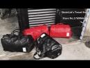 Top PU кожаный тренажерный зал Мужской сумка для обуви Спорт для женщин Фитнес путешествия Сумки для багажа Сумки на сумке Черны