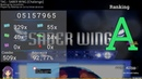Osu!   Adamqs   TAG - SABER WING [Challenge] HD,HR,DT 92.77% FC 421pp
