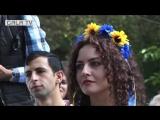 Открытие первого памятника украинскому поэту Тарасу Шевченко в Ереване
