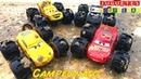 Carros de Carrera para niños Pista de Coches CARS 3 campeonato con los Locochones todo terreno